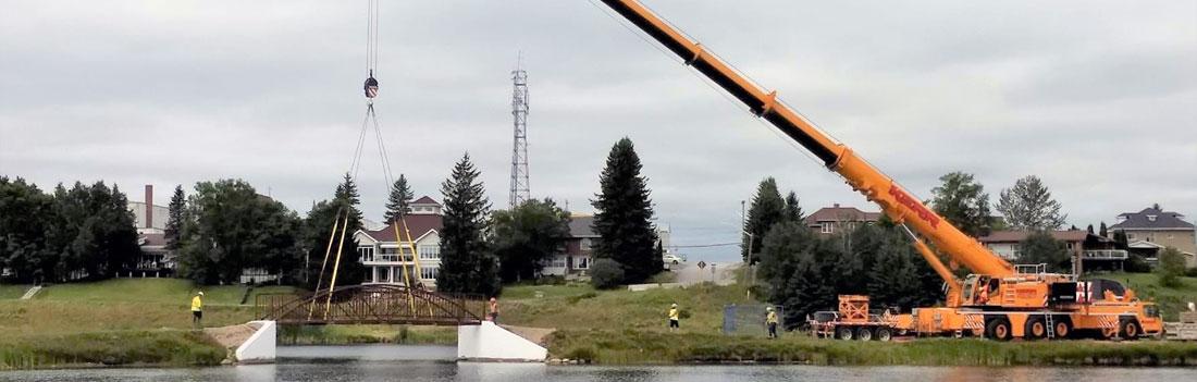 Cochrane Bridge Construction